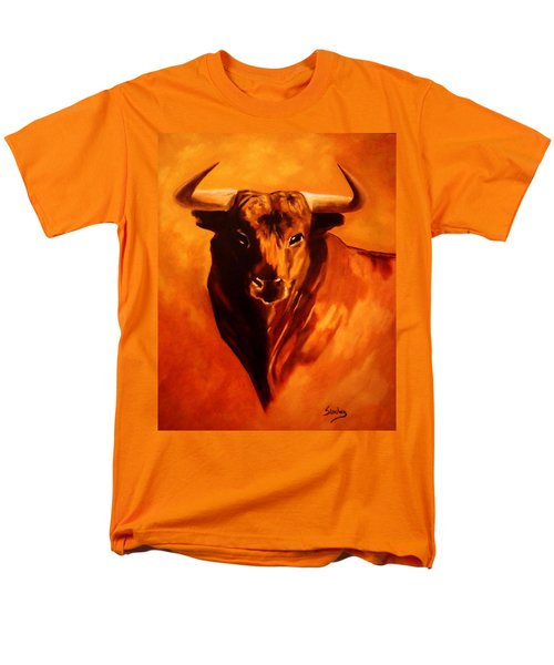 El Toro Men's T-Shirt  (Regular Fit) by Manuel Sanchez