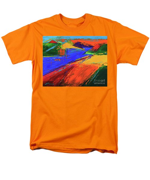 Electric Color Men's T-Shirt  (Regular Fit) by Jeanette French
