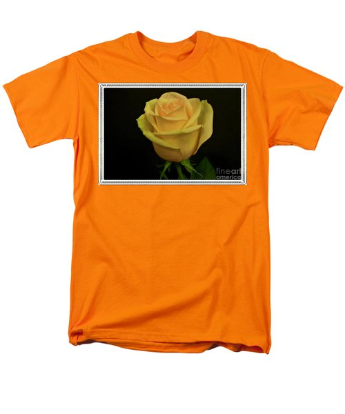 Men's T-Shirt  (Regular Fit) featuring the photograph Empress Rose by Marsha Heiken