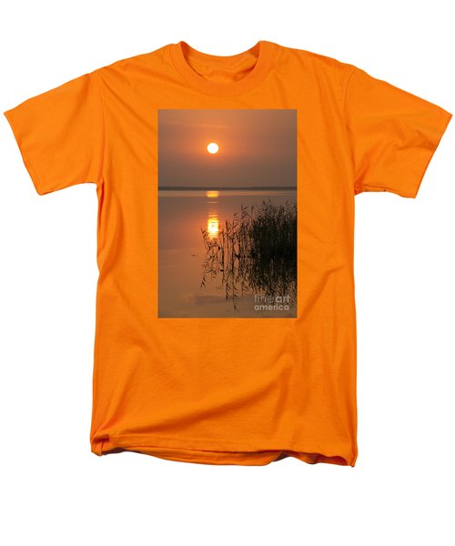 Men's T-Shirt  (Regular Fit) featuring the photograph Evening Reflections by Inge Riis McDonald