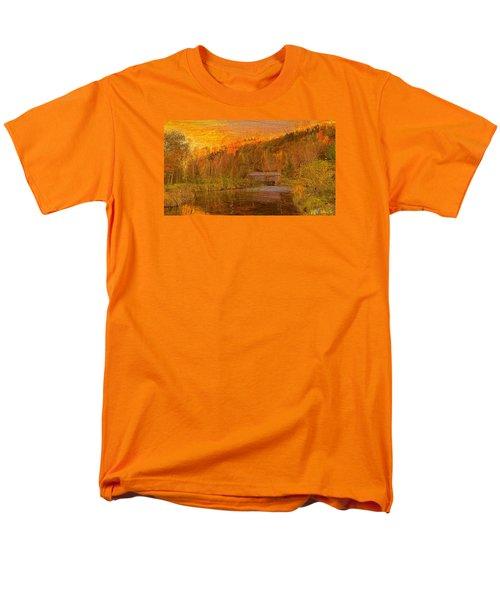 Men's T-Shirt  (Regular Fit) featuring the digital art Evening Shadows II by John Selmer Sr
