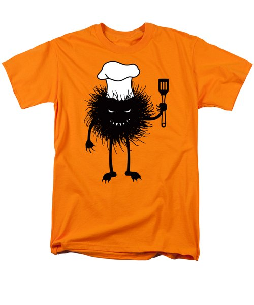Evil Bug Chef Loves To Cook Men's T-Shirt  (Regular Fit) by Boriana Giormova