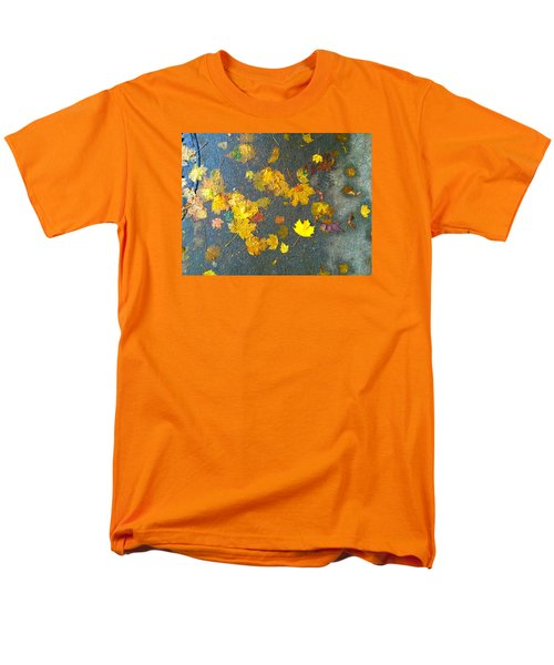 Fading Leaves Men's T-Shirt  (Regular Fit) by Suzanne Lorenz