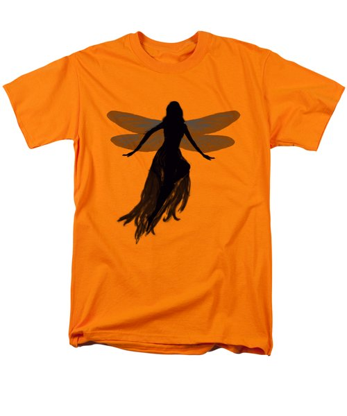 Fairy Silhouette Men's T-Shirt  (Regular Fit) by Tom Conway