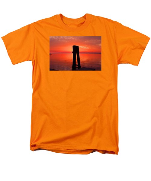 Men's T-Shirt  (Regular Fit) featuring the photograph Faith Reunites Us by Michiale Schneider