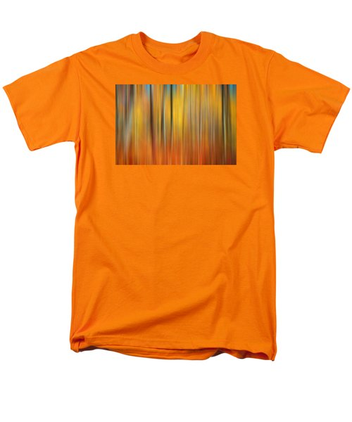 Fall Colors Digital Abstracts Men's T-Shirt  (Regular Fit) by Rich Franco