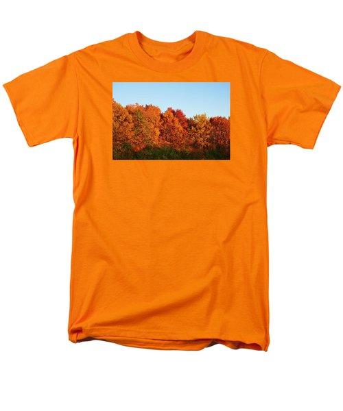 Men's T-Shirt  (Regular Fit) featuring the photograph Fall Forest by Nikki McInnes