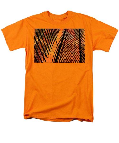 Fenced Framework Men's T-Shirt  (Regular Fit) by Don Gradner
