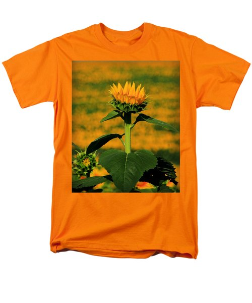 Men's T-Shirt  (Regular Fit) featuring the photograph Field Of Gold by Chris Berry