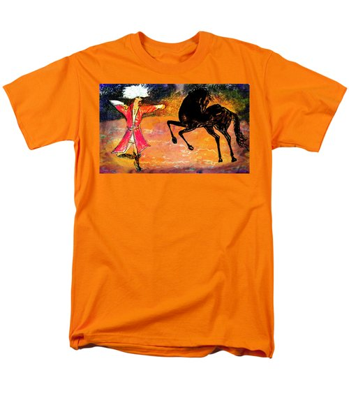 Firat And Shishan Dance I Men's T-Shirt  (Regular Fit) by Anastasia Savage Ealy