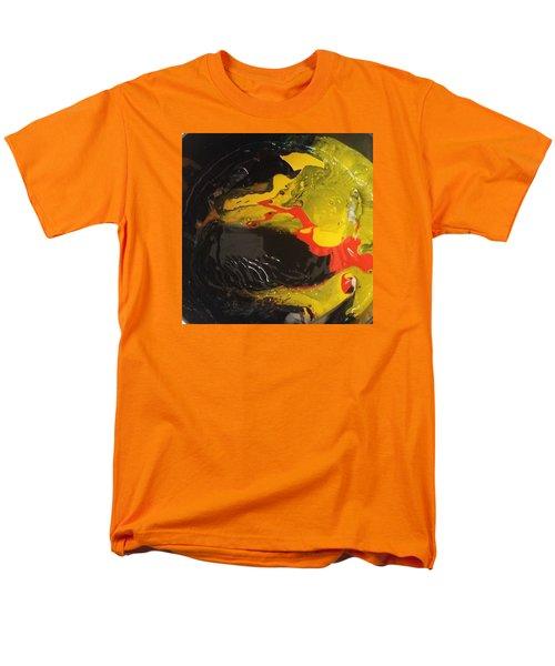 Fire In Soot Men's T-Shirt  (Regular Fit) by Gyula Julian Lovas