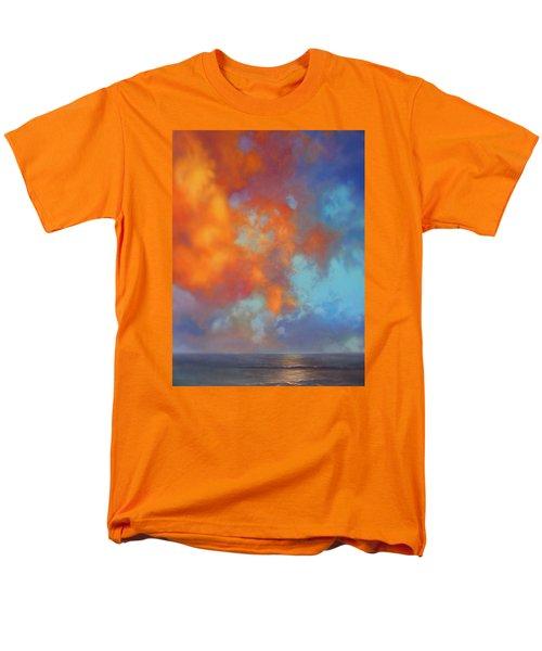 Fire In The Sky Men's T-Shirt  (Regular Fit) by Vivien Rhyan