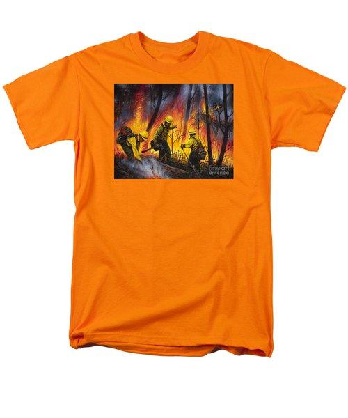 Fire Line 2 Men's T-Shirt  (Regular Fit)