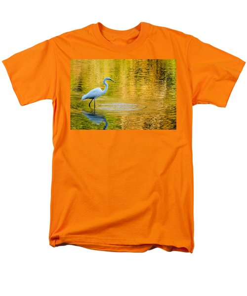Men's T-Shirt  (Regular Fit) featuring the photograph Fishing 2 by Wade Brooks