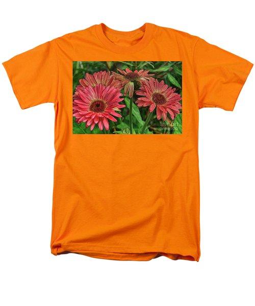 Men's T-Shirt  (Regular Fit) featuring the photograph Floral Pink by Deborah Benoit