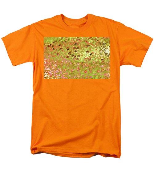 Men's T-Shirt  (Regular Fit) featuring the digital art Flower Praise by Linde Townsend
