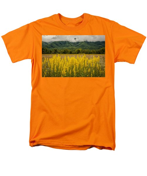 Men's T-Shirt  (Regular Fit) featuring the photograph Flowers In Cades Cove by Tyson Smith