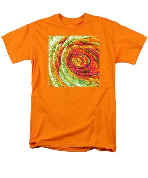 Fluorescent Wormhole Men's T-Shirt  (Regular Fit) by Shawna Rowe