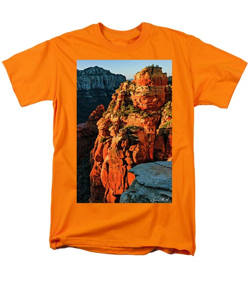 Flying Buttress 06-034 Men's T-Shirt  (Regular Fit) by Scott McAllister
