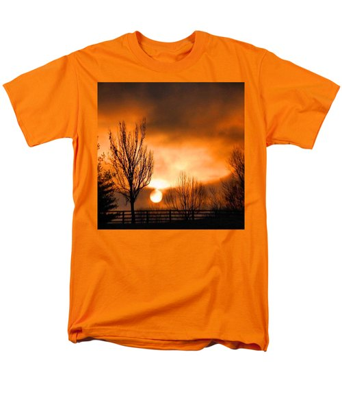 Foggy Sunrise Men's T-Shirt  (Regular Fit) by Sumoflam Photography