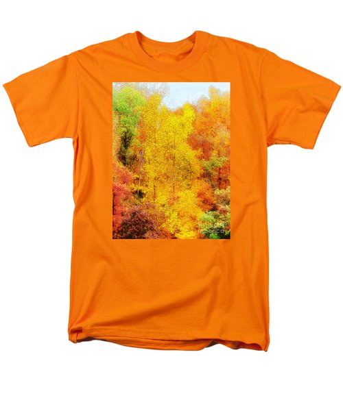 Forest Fire Men's T-Shirt  (Regular Fit) by Craig Walters