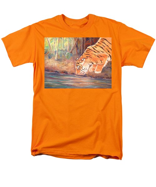 Forest Tiger Men's T-Shirt  (Regular Fit)