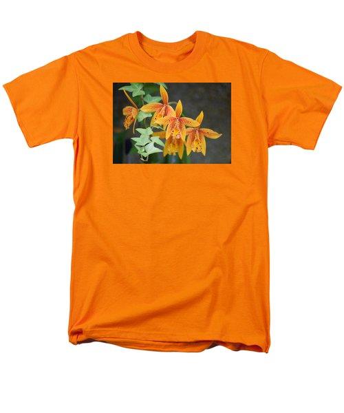 Freckled Flora Men's T-Shirt  (Regular Fit) by Deborah  Crew-Johnson