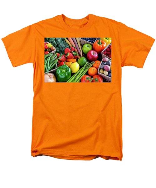Fresh From The Farm Men's T-Shirt  (Regular Fit) by Teri Virbickis