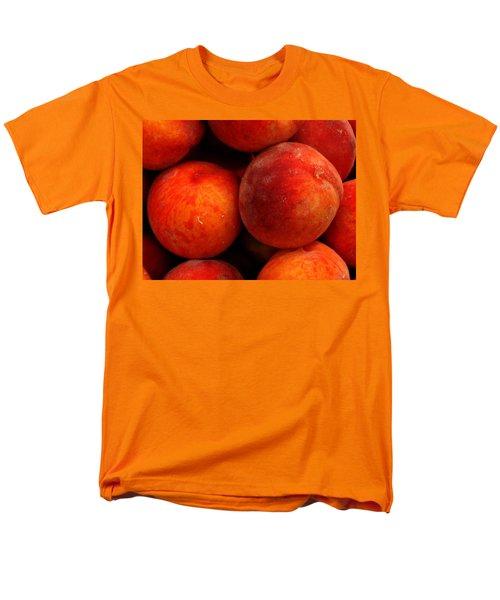 Fresh Fuzzy Peaches Men's T-Shirt  (Regular Fit) by Ian  MacDonald