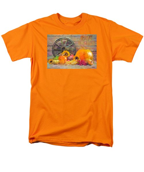 Men's T-Shirt  (Regular Fit) featuring the painting Fruits Of Thanks by Wayne Pascall