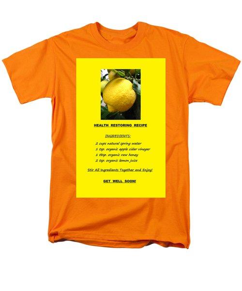 Get Well Soon Men's T-Shirt  (Regular Fit) by Mary Ellen Frazee