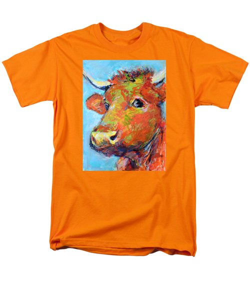 Men's T-Shirt  (Regular Fit) featuring the painting Ginger Horn by Mary Schiros