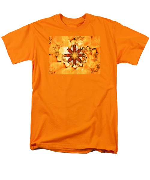 Men's T-Shirt  (Regular Fit) featuring the digital art Glow by Richard Ortolano