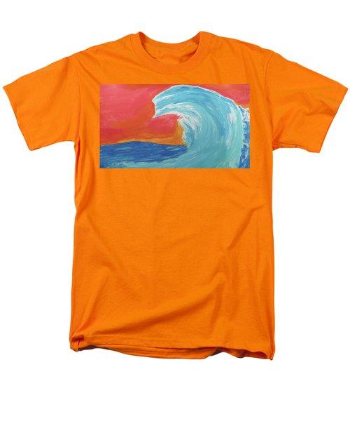 Gnarly Wave  Men's T-Shirt  (Regular Fit) by Don Koester
