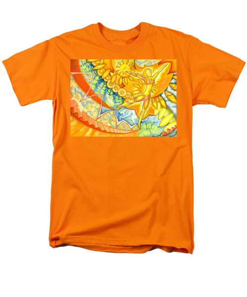 Go Confidently In The Direction Of Your Dreams Men's T-Shirt  (Regular Fit) by Mark Stankiewicz