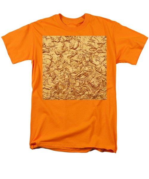 Gold Waves Men's T-Shirt  (Regular Fit) by Alan Casadei