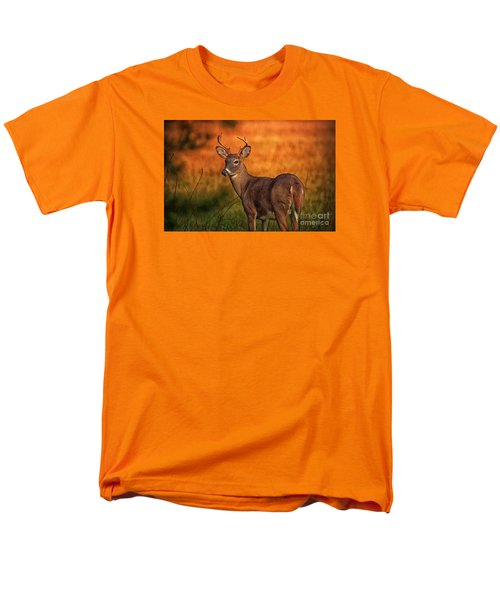 Golden Buck Men's T-Shirt  (Regular Fit) by Geraldine DeBoer