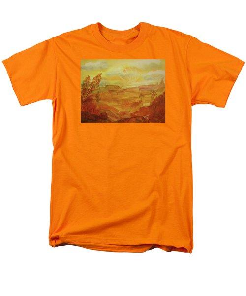 Golden Dawn Men's T-Shirt  (Regular Fit) by Ellen Levinson