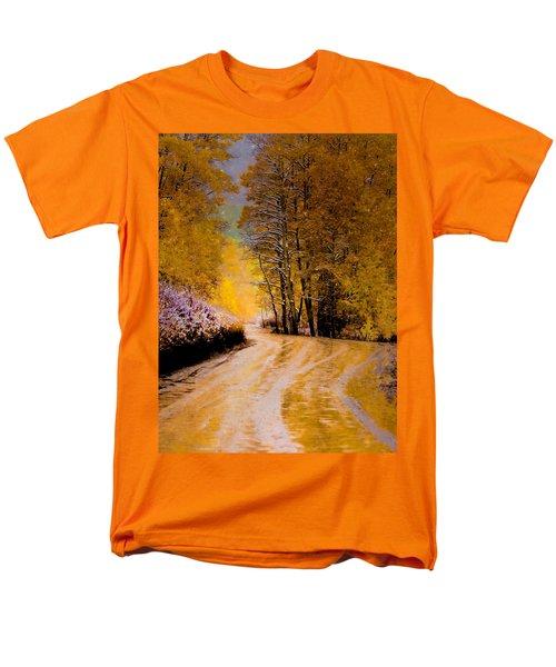Golden Road Men's T-Shirt  (Regular Fit)