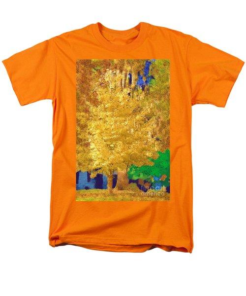 Men's T-Shirt  (Regular Fit) featuring the photograph Golden Tree by Donna Bentley