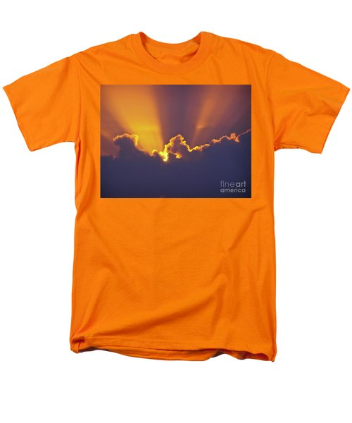 Men's T-Shirt  (Regular Fit) featuring the photograph Good Night Sunshine by Terri Waters