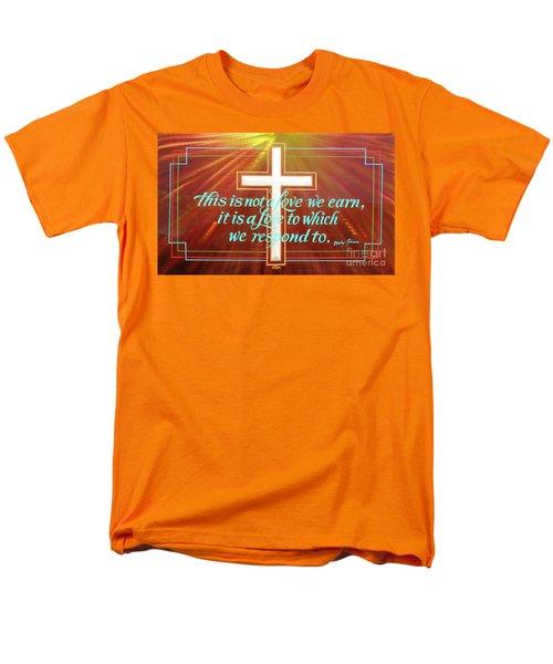 Grace  Men's T-Shirt  (Regular Fit) by Alan Johnson