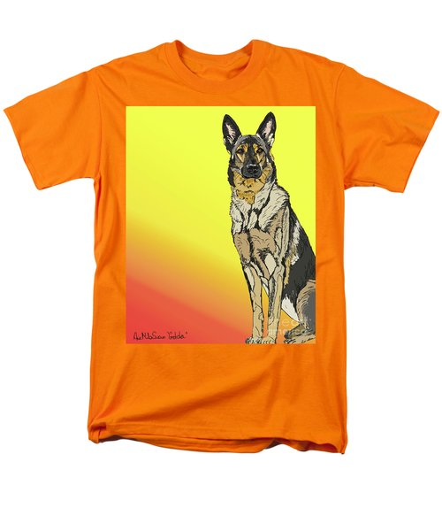 Gretchen In Digital Men's T-Shirt  (Regular Fit) by Ania M Milo