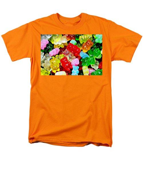 Gummy Bears Men's T-Shirt  (Regular Fit) by Vivian Krug Cotton