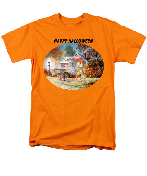 Happy Halloween Men's T-Shirt  (Regular Fit) by Bill Holkham