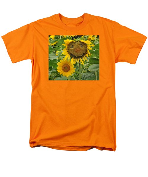 Have A Groovy Day Said The Hippie Flower Men's T-Shirt  (Regular Fit) by Joanne Brown