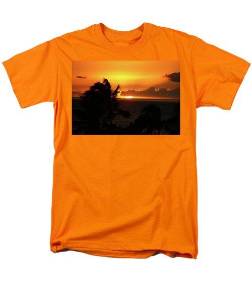 Men's T-Shirt  (Regular Fit) featuring the photograph Hawaiian Sunset by Anthony Jones