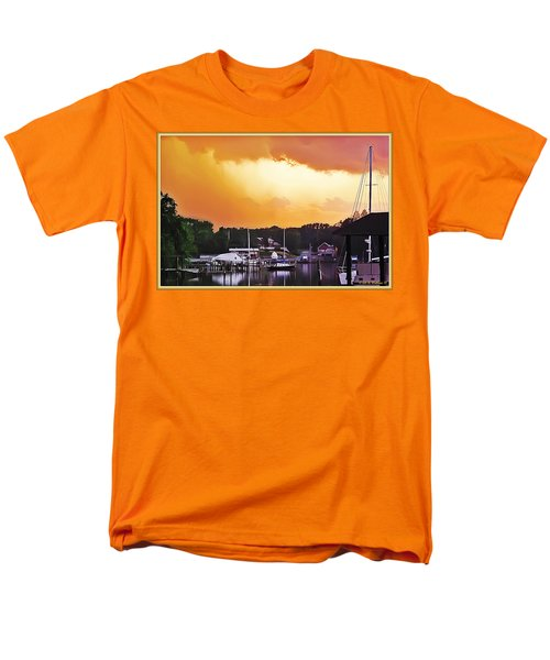 Men's T-Shirt  (Regular Fit) featuring the photograph Head For Safety by Brian Wallace