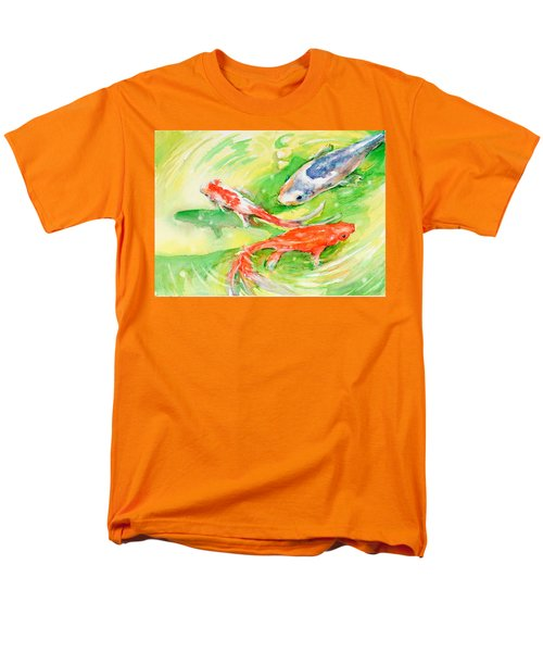 Here Comes Moby Men's T-Shirt  (Regular Fit) by Judith Levins