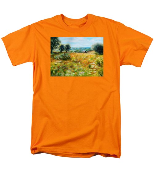 Hill Country Mile Men's T-Shirt  (Regular Fit) by Patti Gordon